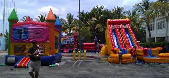 party rental miami cinnamonstixx party rentals miami bounce house rental in miami