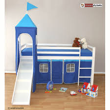 Childrens Bunk Bed With Slide Blue Children Bunk Bed With Slide Warmojo House