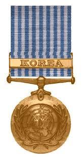korean service ribbon united nations korea medal