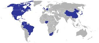 World Map Jamaica by List Of Diplomatic Missions Of Jamaica Wikiwand