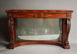 Mahogany Console Table Early 19th C Mahogany Console Table Of Nice Proportions 280096