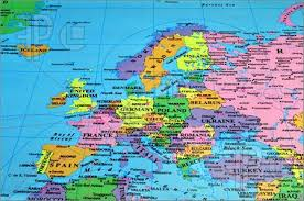 euope map map of europe cities travelquaz