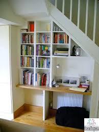 Bookcase Desk Diy Bookcase Diy Under Stairs Bookcase Under Stair Bookcase Ikea