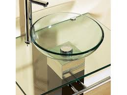 glass bathroom sinks countertops home design ideas