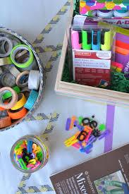 the best art supplies for kids and diy art gift baskets meri cherry