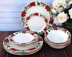 christmas plates christmas plates etsy