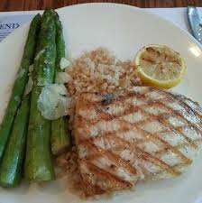 cuisine le gal grilled swordfish and asparagus picture of sea foods