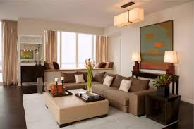 Brown Livingroom Wonderful Apartment Living Room Color Ideas For Decor Apartments