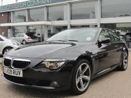 bmw 6 series for sale uk used bmw 6 series 2009 diesel 635d sport 2dr coupe black edition