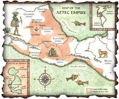 aztec map of mexico the aztec empire the ancient