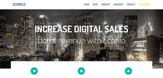 scorilo u2013 free html bootstrap ecommerce template bootstrap themes