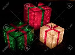 lighted christmas boxes home design ideas