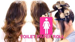 26 lazy hairstyling hacks toilet paper roll heatless curls overnight lazy hairstyles