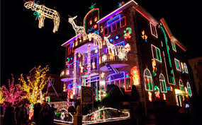 dyker heights lights in new york city a slice of