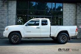 tacoma lexus wheels toyota tacoma with 18in grid offroad gd5 wheels exclusively from