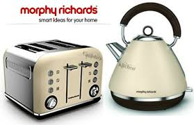 Morphy Richards Toaster Cream Morphy Richards Accents Special Edition Traditional Kettle 102101