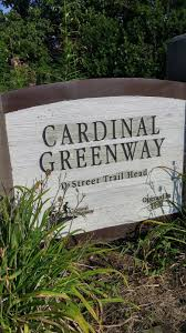 Cardinal Greenway Map The Reluctant Cyclist August 2015