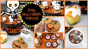 diy halloween treats 5 easy ideas missjenfabulous youtube