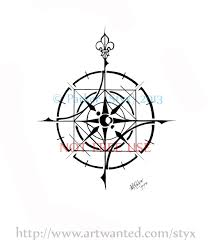 100 compass rose tattoo design compass rose tattoo design