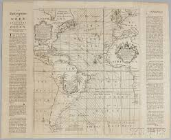 Southern Ocean Map The Description And Uses Of A New And Correct Sea Chart Of The