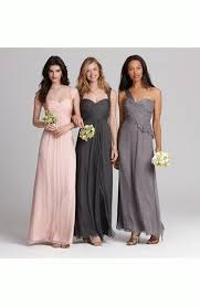 amsale crinkled silk chiffon gown nordstrom bridesmaids