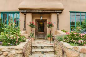 Adobe Style Homes Tour The Iconic George Sturges House Art Of Living By Sotheby U0027s