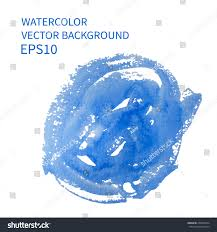 abstract watercolor art hand paint on stock vector 259024814