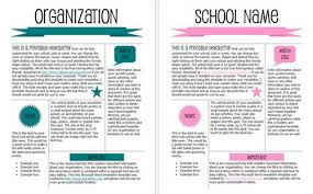 handout template word amitdhull co