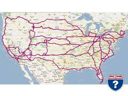 road map usa reference map showing major highways and cities and roads of us a