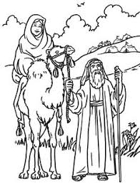 abraham and isaac coloring page later another man showed that he would obey god abraham trusted