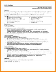 Coordination Skills Resume 14 Sample Resume For Special Education Teacher Azzurra Castle