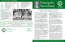 thanksgiving 2014 dates principal u0027s newsletter sept 2014 by jesuit high issuu