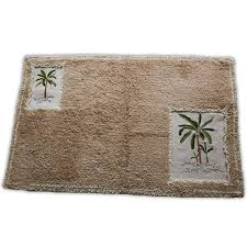 Palm Tree Runner Rug Croscill Fiji Bath Rug 32 By 20 Inch Home Kitchen