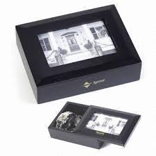 jewelry box photo frame china square shaped wooden jewelry box with photo frame lid on