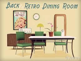 Pysznys Back To Retro Dining Room - Retro dining room