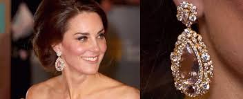kate middleton diamond earrings baftas best diamond jewels from the carpet this 2017