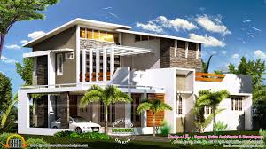 2000 sq ft modern contemporary house plan kerala home design and