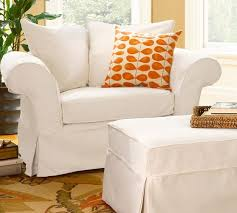 slipcovers for chair and a half charleston slipcovered chair and a half pottery barn