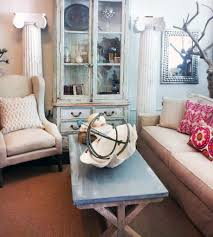 shabby chic living room decorating ideas black upholstery