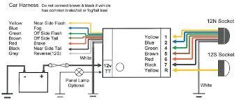 universal teb7as bypass relay towing electrics towbar wiring kit