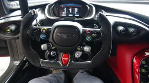 aston martin steering wheel inside the aston martin vulcan youtube