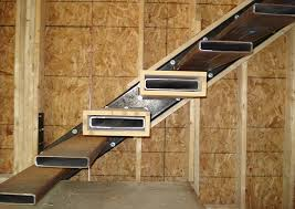 Floating Stairs Design Glamorous How To Build Floating Stairs 65 In Home Design Ideas