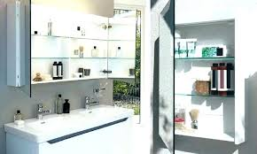bathroom mirrors with storage ideas mirror with shelves akapello