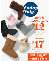 s ugg like boots navy s ugg like boots for 17 today only