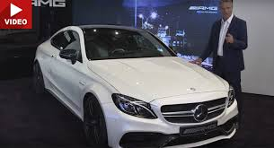 C63 Coupe Interior Mercedes Amg Drops 2017 C63 S Coupe Walkaround Presentation