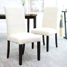 Leather Parson Dining Chairs Leather Parsons Dining Chairs Smc