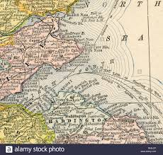 Dundee Scotland Map Old Map Of Firth Of Forth And East Coast Scotland From Original