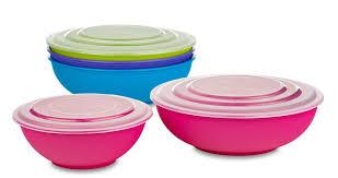 wholesale bowl set with lids bulk plastic bowls with lids b r