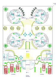 Recreation Center Floor Plan by Recreational Center Holiday Inn Villa 2d Dwg Plan For Autocad