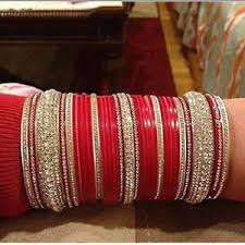 wedding chura wedding chura wedding bangles dulhan chura bridal chura suhag